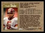 1996 Topps #25  Heath Shuler  Back Thumbnail