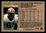 1996 Topps #41  Michael Haynes  Back Thumbnail
