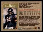 1996 Topps #44  John Thierry  Back Thumbnail