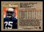 1996 Topps #187  Robert Blackmon  Back Thumbnail