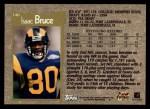 1996 Topps #140  Isaac Bruce  Back Thumbnail