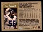 1996 Topps #211  Tony Bennett  Back Thumbnail