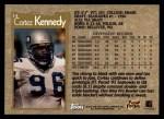 1996 Topps #14  Cortez Kennedy  Back Thumbnail