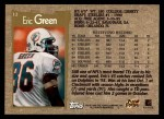 1996 Topps #12  Eric Green  Back Thumbnail