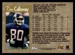 1996 Topps #148  Chris Calloway  Back Thumbnail