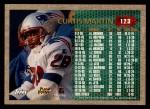 1996 Topps #123   -  Curtis Martin 1000 Yard Club Back Thumbnail