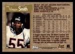 1996 Topps #344  Vinson Smith  Back Thumbnail
