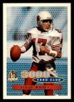 1996 Topps #380   -  Dave Krieg 3000 Yard Club Front Thumbnail