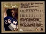 1996 Topps #305  Phillippi Sparks  Back Thumbnail