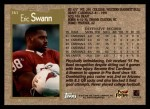 1996 Topps #361  Eric Swann  Back Thumbnail