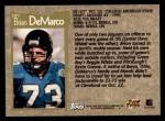 1996 Topps #289  Brian DeMarco  Back Thumbnail