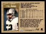 1996 Topps #329  Mike Jones  Back Thumbnail