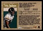1996 Topps #396  Willie Jackson  Back Thumbnail