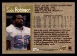1996 Topps #295  Eddie Robinson  Back Thumbnail