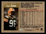 1996 Topps #221  Sean Jones  Back Thumbnail