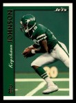 1997 Topps #30  Keyshawn Johnson  Front Thumbnail
