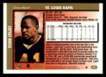 1997 Topps #207  Todd Lyght  Back Thumbnail