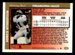 1997 Topps #326  Derrick Witherspoon  Back Thumbnail