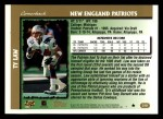 1997 Topps #218  Ty Law  Back Thumbnail
