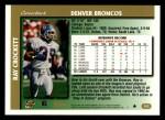 1997 Topps #302  Ray Crockett  Back Thumbnail
