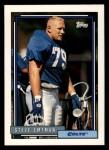 1992 Topps #742  Steve Emtman  Front Thumbnail