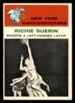 1961 Fleer #52   -  Richie Guerin In Action Front Thumbnail