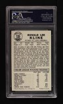 1960 Leaf #105  Ron Kline  Back Thumbnail