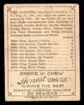 1910 T219 Champions #30 HON Phil McGovern  Back Thumbnail