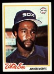 1978 Topps #421  Junior Moore  Front Thumbnail