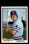 1978 Topps #438  John Ellis  Front Thumbnail