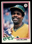 1978 Topps #604  Earl Williams  Front Thumbnail