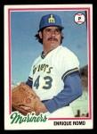 1978 Topps #278  Enrique Romo  Front Thumbnail