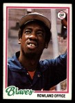 1978 Topps #632  Rowland Office  Front Thumbnail
