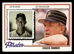 1978 Topps #494  Chuck Tanner  Front Thumbnail