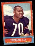 1963 Topps #67  Herman Lee  Front Thumbnail