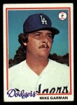 1978 Topps #417  Mike Garman  Front Thumbnail
