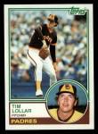 1983 Topps #185  Tim Lollar  Front Thumbnail