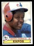 1979 Topps #76  Warren Cromartie  Front Thumbnail