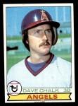1979 Topps #682  Dave Chalk  Front Thumbnail