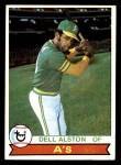 1979 Topps #54  Dell Alston  Front Thumbnail