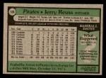 1979 Topps #536  Jerry Reuss  Back Thumbnail