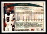 1998 Topps #93  Jeff Blake  Back Thumbnail