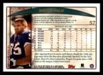 1998 Topps #57  Bryce Paup  Back Thumbnail