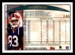 1998 Topps #146  Andre Reed  Back Thumbnail