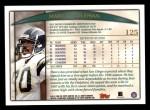 1998 Topps #125  Marco Coleman  Back Thumbnail