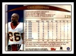 1998 Topps #129  Cris Dishman  Back Thumbnail