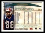 1998 Topps #292  Quinn Early  Back Thumbnail