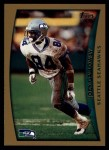 1998 Topps #321  Joey Galloway  Front Thumbnail