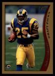1998 Topps #348  Robert Holcombe  Front Thumbnail