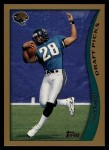 1998 Topps #339  Fred Taylor  Front Thumbnail